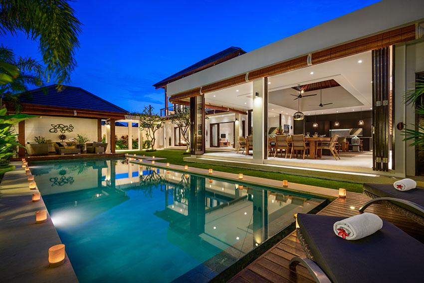 Villa maya bali family villas for Family villas