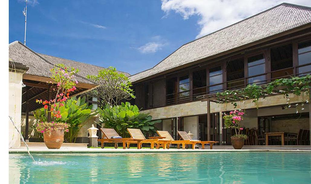 Villa bayu gita residence bali family villas for Family villas